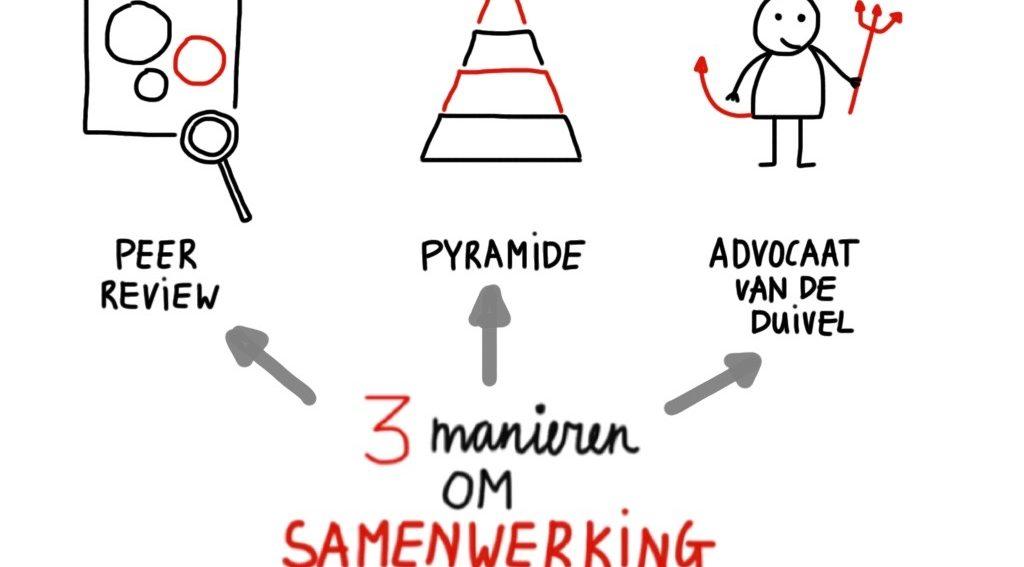 3 werkvormen samenwerking vergroten