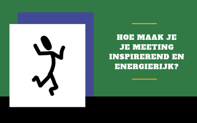 15 tips om je (team)overleg of meeting leuker te maken