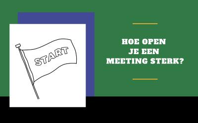 24 vragen om je meeting mee te starten