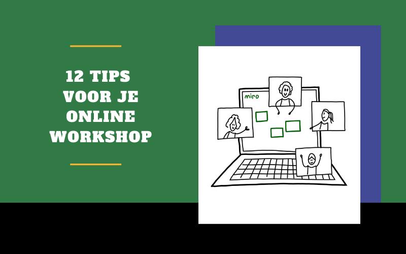 12 tips voor je online workshop