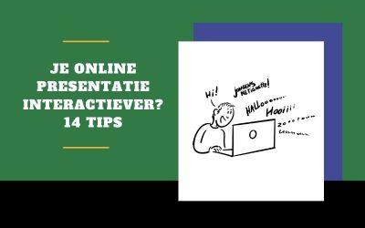 14 tips voor een interactieve online presentatie